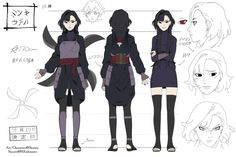 Naruto OC Reference |Mitsuki Uchiha by skaiista