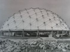 Synergetics, Inc geodesic dome designed by TC Howard.