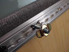 Plow bolt for cabinet fixing in l-track Cargo Trailer Conversion, Sprinter Conversion, Camper Conversion, Car Camper, Camper Van, Sportsmobile Van, Mercedes Vito, Campervan Interior, Benz Sprinter