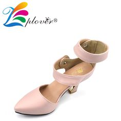 Zplover Brand High Heel Shoes Women Sexy Pink Pointed Toe Shoes Button Ladies Pumps Women Footwear Fashion Wedding Shoes