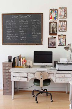 Vintage ideas: your vintage office!
