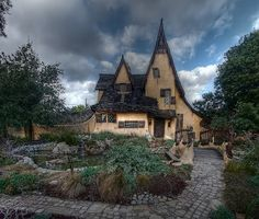 The Witches House (Spadena House) - Beverly Hills, CA