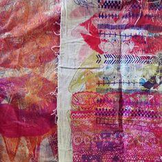 Supermaggie Test Print Cloth // Screenprint