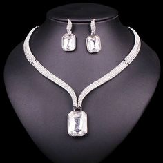 Like and Share if you want this  Fashion Rhinestone Crystal Necklace Earrings Set Wedding Bridal Bridesmaid Jewelry Sets For Party Costume Accessories Decoration     Tag a friend who would love this!     FREE Shipping Worldwide     Get it here ---> http://jewelry-steals.com/products/fashion-rhinestone-crystal-necklace-earrings-set-wedding-bridal-bridesmaid-jewelry-sets-for-party-costume-accessories-decoration/    #red_bottom_shoes