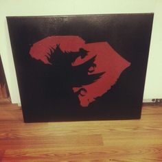 Gamecock State cutout canvas painting  11/26/2014