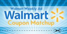 Walmart Weekly Ad Coupon Match Up (4/23-4/29)