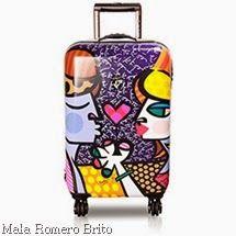 Mala Romero Brito, colorida e com estilo.