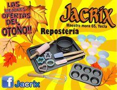 ¿quieres sorprender a los tuyos? pues atrevete con reposteria y Jacrix en yecla tiene los utensilios para ello, hazlo por ti mism@!!!