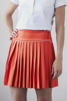 Golf Pleated Skirt