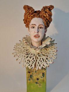 Gelske Koopmans Ceramic handbuild glazed 45 cm