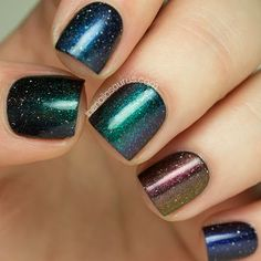 piCture pOlish LE Shades: Illusionist, Gravity, Aurora, Solar Flare and Altered State - The Nailasaurus