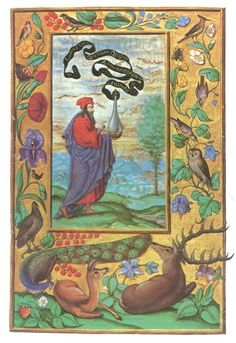 "Illustration of the manuscript, Splendor solis ""Solomon Trismosina, 16th century, alchemy."
