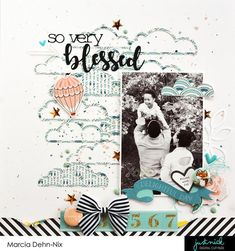 Top 10 Scrapbook Layouts of 2017 + a GIVEAWAY