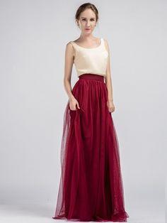 Marsala Tulle Skirt for Bridesmaids