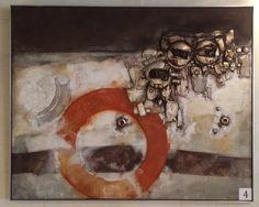 Joop Birker (Tilburg, 1935 - Tilburg, 1993), materieschilderij