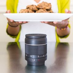 Combine your love for photography with your love for cooking and all things sweet! We've got a new kitchen timer that looks like a camera lens, check it out. $14