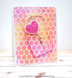 VIDEO: Tag card - Paper Crafts by Laurel
