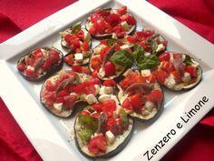 Melanzane+alla+pizzaiola Italian Pasta, Slow Food, Bruschetta, Fett, Healthy Recipes, Healthy Food, Italian Recipes, Side Dishes, Salads