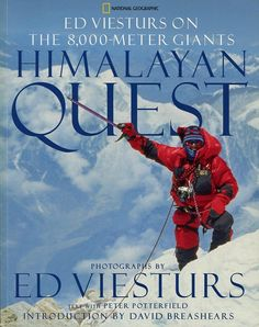 Ed Viesturs Near Manaslu Summit April 22, 1999