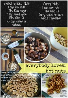 hot spicy nuts #nibbles #snacks #nuts