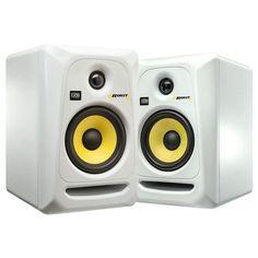 KRK ROKIT RP6 G3 6'' Active Powered Studio Monitors Pair White