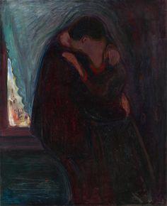 Le baiser, par Edvard Munch