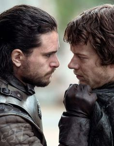 Jon and Theon