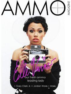 Elle Varner Goes Vintage for AMMO Magazine - Spring 2012