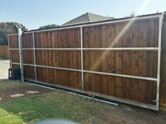 Automatic and Electric Gates Frisco TX Driveway Gate Installation Frisco Electric Driveway Gates, Electric Gates, Gate Wall Design, Gate Automation, Gate Openers, Gate Operators, Double Swing, Fencing Companies, Sliding Gate
