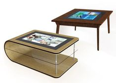 The Itable Touchscreen Coffee Table From Pq Labs Pq Labs Showed Off Its G3 Touchscreen