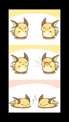 Mini Chibi Raichu adventures 6 (Pokemon)