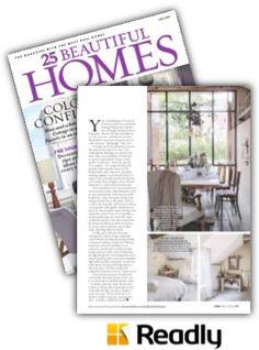 Suggestion about 25 Beautiful Homes Magazine July 2016 page 87