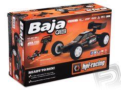 HPI Rc auto Q32 Baja Buggy RTR s 2,4GHz soupravou