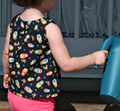 Snappy Toddler Top & Free Downloadable Pattern – Pretty Prudent