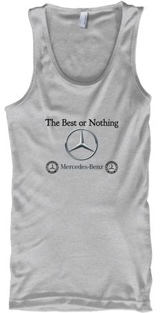 The Best Or Nothing Sport Grey T-Shirt Front