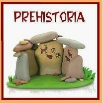 Blog con recursos para infantil sobre prehistoria