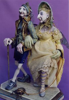 Fabulous dolls by Paul & David now working on 17th century dolls at oldpretenders.com
