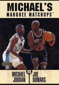 RARE 97/98 UPPER DECK JUMBO MICHAEL JORDAN CHICAGO BULLS MARQUEE MATCHUPS SET