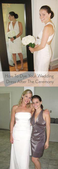 Clothes Diy Dye Tutorials 40 Ideas For 2019 Wedding Dress Gallery, Wedding Dresses Photos, Wedding Dress Trends, Colored Wedding Dresses, Wedding Ideas, Dip Dye Wedding Dress, Navy Dress Outfits, Diy Dress, Dress Ideas