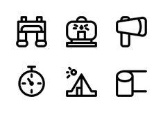 'Go Camping' by Hai! Camping Icons, Go Camping, Job Resume Template, Adventure, Studio, Outdoors, Nature, Naturaleza, Studios