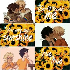 ♕Solangelo; Will Solace x Nico di Angelo  PJO and OH♕ Aesthetic by me (Acia).