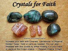 Crystals for Faith