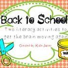 CHRYSANTHEMUM {BACK TO SCHOOL READ ALOUD ACTIVITIES AND PRINTABLES} - TeachersPayTeachers.com