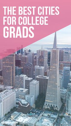These are the best cities for recent college grads looking to start their career in an affordable city!