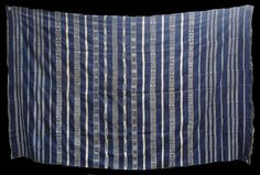 Welcome to Adire African Textiles Francophone West Africa Gallery African Patterns, African Textiles, African Fabric, Kind Of Blue, Blue And White, Textile Texture, African Masks, Cotton Blankets, West Africa