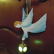 Подарки к праздникам ручной работы. Ярмарка Мастеров - ручная работа Ангел с фонариком. Handmade.