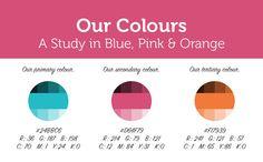 Our branding - the Splitpixel colours