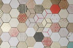Wallpapering by Dear Human #grafica #design #carta