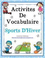 Here are 12 word wall signs and 2 vocabulary activities to help your students… French Teaching Resources, Teaching French, Free French Lessons, Winter Words, 2nd Grade Math, Grade 2, Core French, French Classroom, Vocabulary Activities