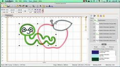 Overlapping Applique Designs - simply remove the hidden stitches using Embrilliance Essentials